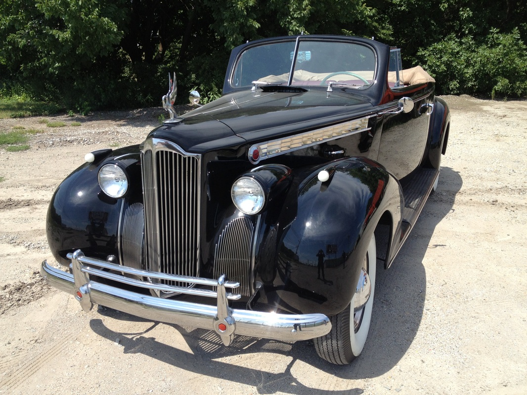 1940 Packard 120 Convertible - Nebraska Classic Car Restoration ...